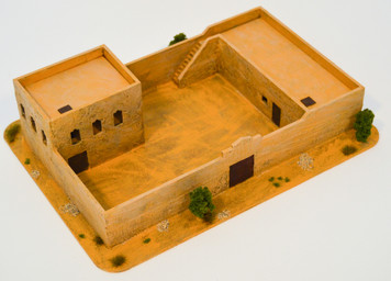 Walled Compound With Removable Roof (MDF) - 15MMDF038-R