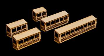 Balconies, 5 Per Kit - 15MMEV017
