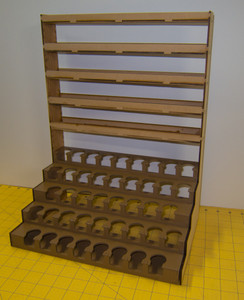 Shelf Unit for Paint Racks - Version 1