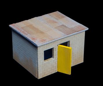 Shanty Town Building, Cinder Block - 20MSHA006