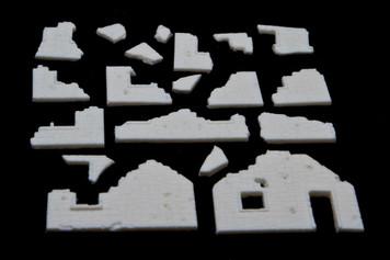 Rubbled Building Bits - 15MTAV027