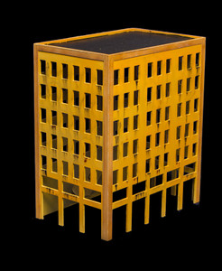 City Building (Wood) - 10MMDF024