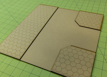 "12"" City Tile - 3 Way Intersection - 15MTILE011"