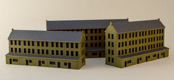 3mm Row Houses (Matboard) - 3MMCSS060