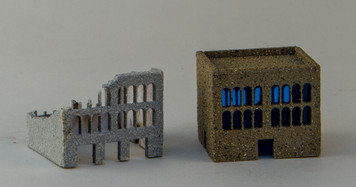 3mm 3 Story Building (Ruined and Non-Ruined) - 3MMCSS004
