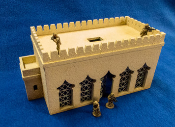28mm Temple (MDF) - 28MMDF160-1