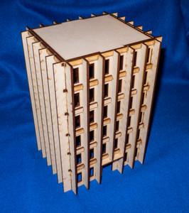 20mm High Rise Building (MDF) - 20MMDF164