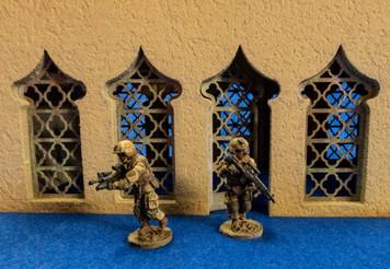 15mm Temple Door and Window Kit - 15MMDF160-1D