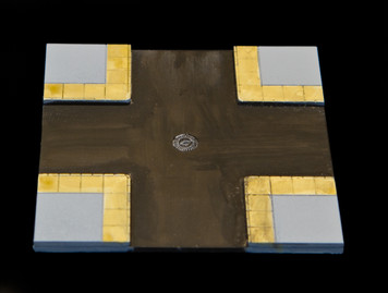 4 Way Crossing Intersection Tile - 10MTILE004