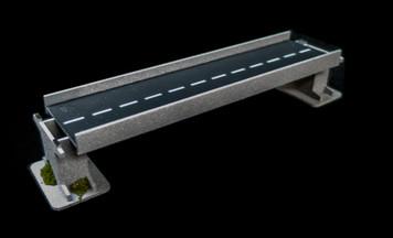 "10"" Straight Roadway Section, 2 Lane - 10MROAD152-1"
