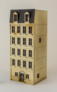 15mm European City Building (Matboard) - 15MCSS101