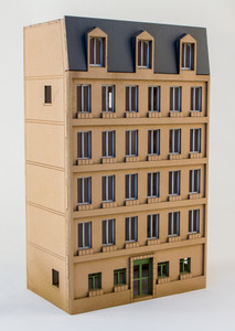 15mm European City Building (Matboard) - 15MCSS106