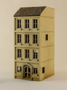 15mm European City Building (Matboard) - 15MCSS111