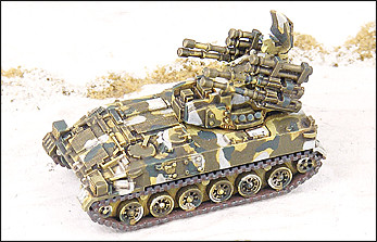 PGZ95 - Self-propelled AAA vehicle - RC13
