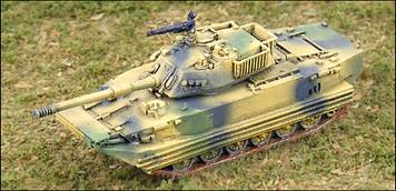 Type 63A Tank - Amphibious Tank - RC15