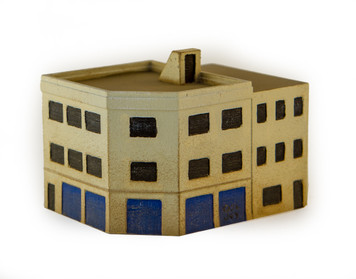Middle Eastern Building  (Resin) - 285MEV080