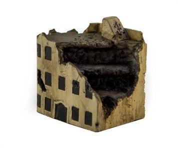 Middle Eastern Building, Ruined (Resin) - 285MEV084