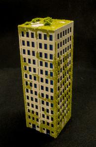 10mm DZC City Building (Matboard) - 10MCSS007-1