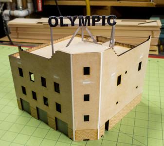 20mm Olympic Hotel (MDF) - 20MMDF168