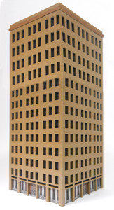 10mm City Building (MatBoard) - 10MCSS025-2