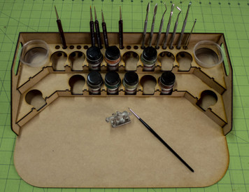 Painting Station - 34mm for GW, Citadel, Model Master, etc