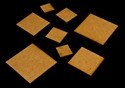 "1"" x 2"" (25mm x 50mm) Rectangle Base (MDF)"