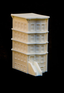 "6mm ""Brownstone"" Corner Building - 285MEV126"