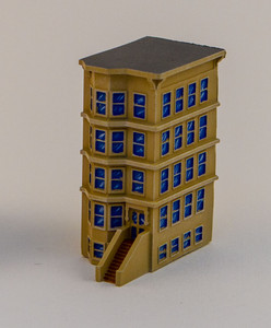 "6mm ""Brownstone"" Corner Building - 285MEV127"