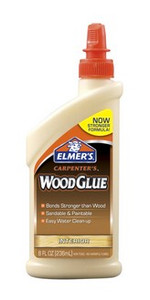 Elmers Carpenters Wood Glue 8oz - Great for MDF Kits