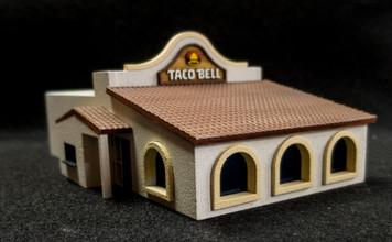 28mm Taco Restaurant (MDF) - 28MMDF163