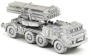 BM-27 Uragan- Russian MLRS (3/pk) - W108