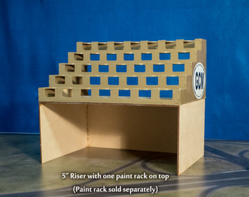"Paint Rack 5"" Riser"