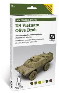 Model Air Set: AFV System US Vietnam Olive Drab (6)