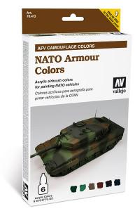 Model Air Set: AFV System NATO Camouflage (6)