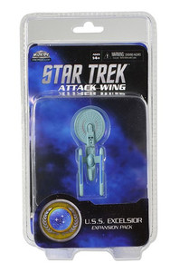 Star Trek Attack Wing: Wave 02 Federation U.S.S. Excelsior Expansion Pack