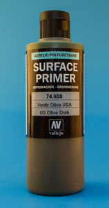Vallejo: US Olive Drab (200ml)