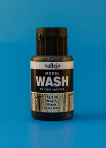 Vallejo Model Wash: Black (35ml)