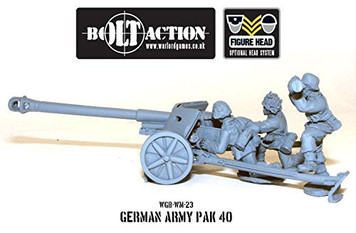 Bolt Action: German Army PAK 40 75mm ATG