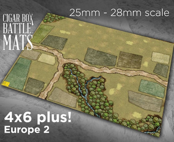 Battle Mat - Europe 2 (28mm Version)