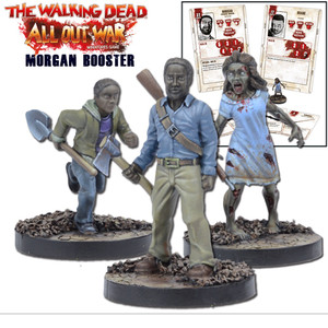 The Walking Dead: All Out War Morgan Booster Expansion