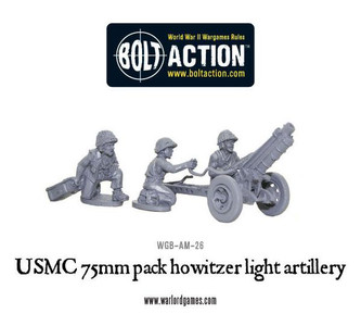 Bolt Action: USMC 75mm Pack Howitzer Light Artillery