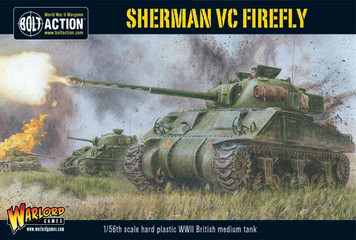 Bolt Action: British Sherman Firefly VC Tank