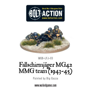 Bolt Action: Fallschirmjager MMG 1943-45