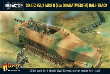 Bolt Action: SdKfz 25 1/2 Ausf D (8cm Granatwerfer) Half Track