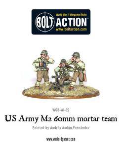 Bolt Action: US Army 60mm mortar team