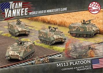 M113 Platoon (Plastic)