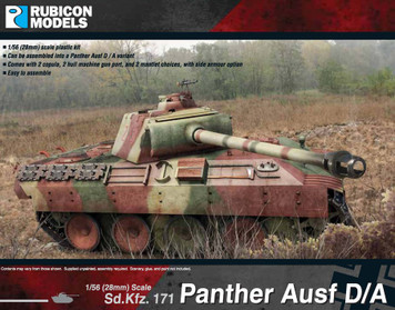 Panther Ausf D & A (1:56th scale / 28mm)