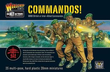 Bolt Action: British Commandos! (25)