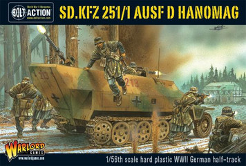 Bolt Action: Sd.Kfz 251/1 ausf D Hanomag