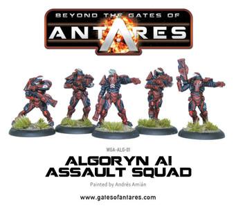 Algoryn AI Assault Squad